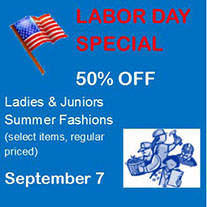 Labor Day Special September 7