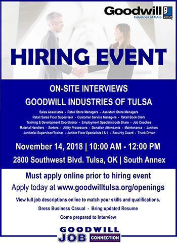 Goodwill Of Tulsa Goodwill Tulsa
